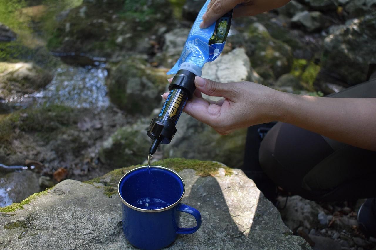purifier l'eau en survie
