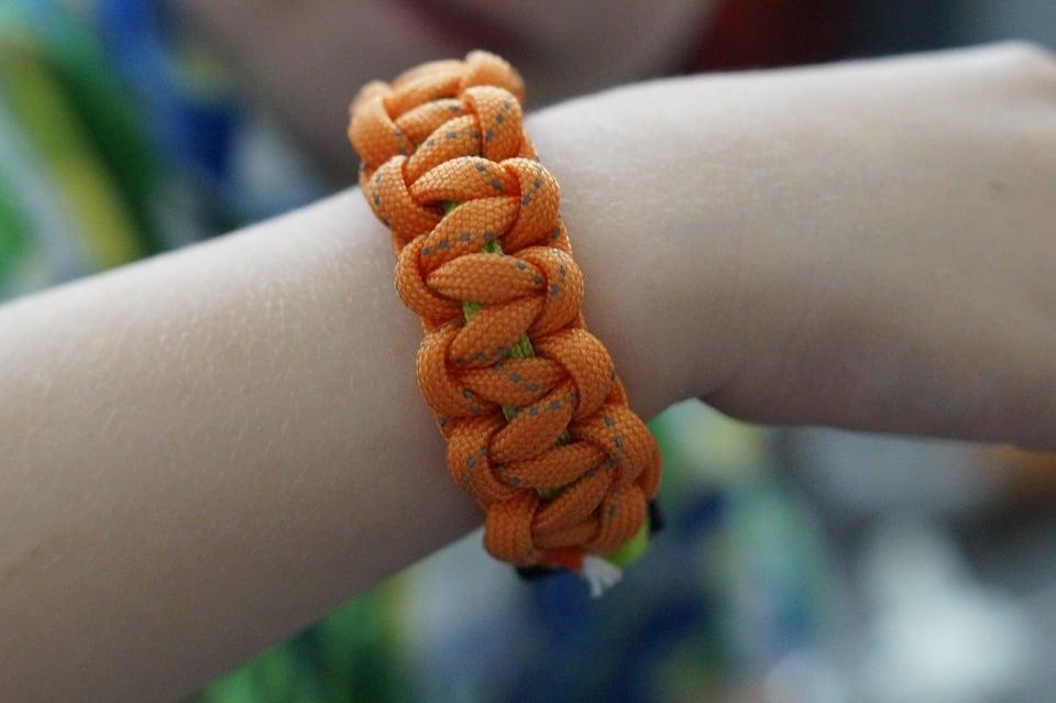 bracelet paracorde,montre paracorde