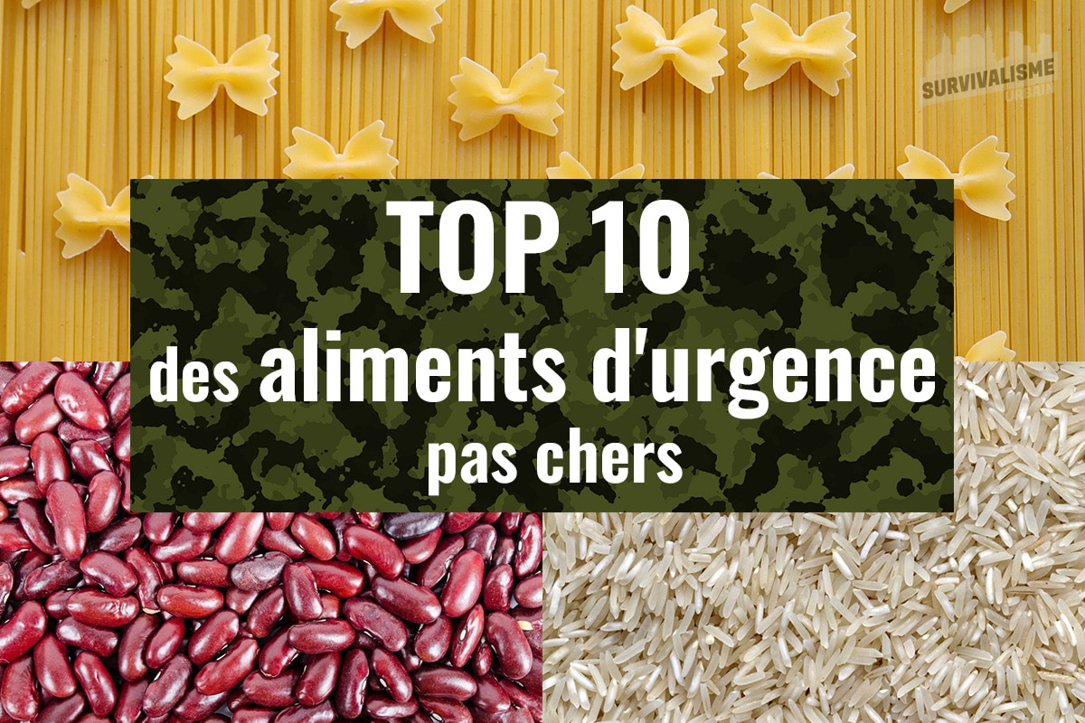 aliments d'urgence